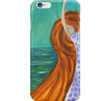 Woman By The Sea, Abstract Portrait  iPhone Case/Skin