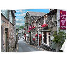 Slate Houses in the Lake District - Reworked Poster