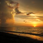 Sunset Storm by Laurette Ruys