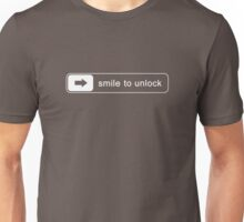 Smile to unlock Unisex T-Shirt