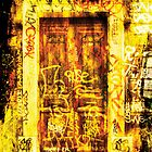 Graffiti creator door by Guy Jean Genevier