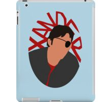 Xander Silhouette iPad Case/Skin