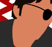 Xander Silhouette Sticker