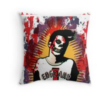 The Smithfits - Our Lady of Perpetual Horror Throw Pillow