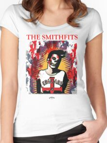 The Smithfits - Our Lady of Perpetual Horror Women's Fitted Scoop T-Shirt