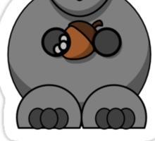 Squirrel Nut Sticker