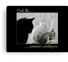 Someone's Watching Over Me Canvas Print