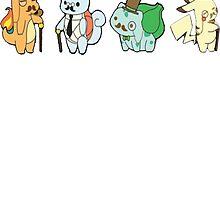 Pokemon Gents by rewydo