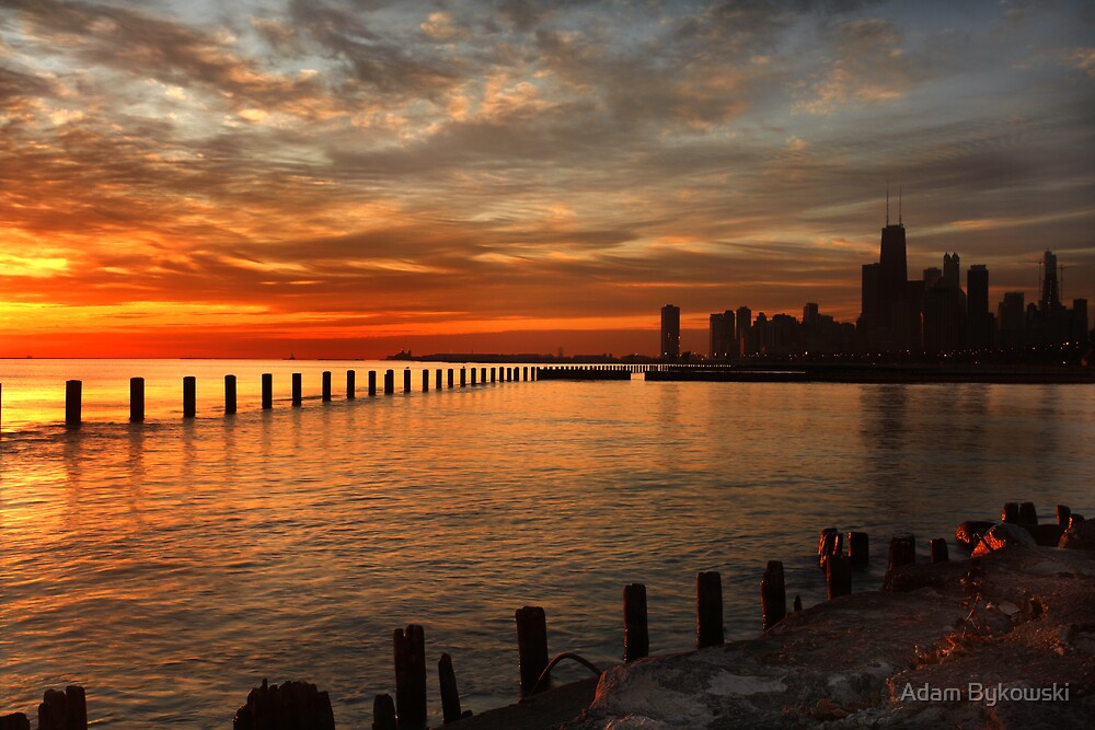 Lakefront Dawn by Adam Bykowski