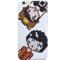 Dan and Phil pixel iPhone Case/Skin