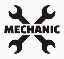Crossed screw wrench mechanic T-Shirt