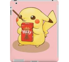 Pikachu Pocky iPad Case/Skin