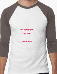 Artistic Irony Men's Baseball ¾ T-Shirt