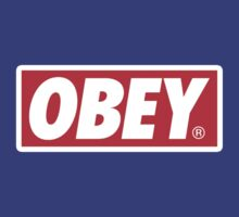 Obey Logo by Jared Lauwrens