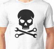 Skull mechanic Unisex T-Shirt