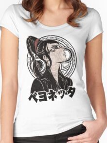The Witch 03 Women's Fitted Scoop T-Shirt