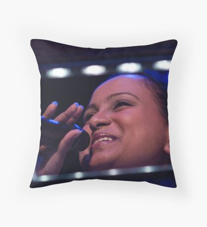 Funky Mathilda Throw Pillow