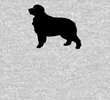 Bernese Mountain Dog Silhouette Unisex T-Shirt