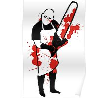 Chainsaw Butcher Poster