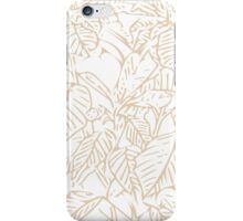 The Plant (white gold) iPhone Case/Skin