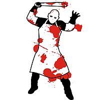 Knife Butcher Photographic Print