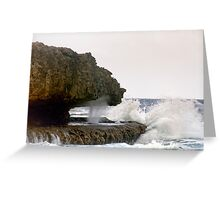 Curacao: Boka Pistol Greeting Card