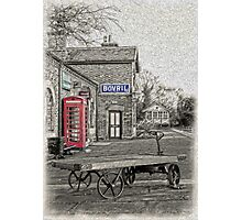 Hadlow Road Popped and Painted Photographic Print