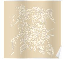 The Plant (gold) Poster