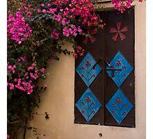 Traditional Metal Door Photographic Print