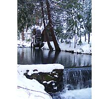 Little Bear Creek With a  Waterfall Photographic Print