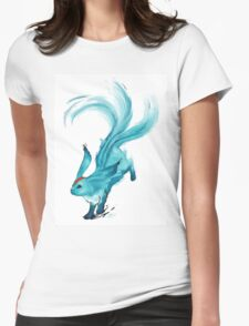The blue carbuncle Womens Fitted T-Shirt
