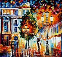 Lonley Couples — Buy Now Link - www.etsy.com/listing/225069366 by Leonid  Afremov