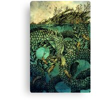 River Dragon Canvas Print