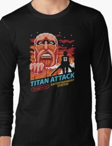 Titan Attack Long Sleeve T-Shirt