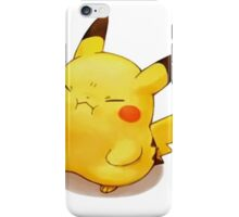 Angry Pikachu iPhone Case/Skin