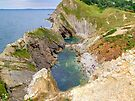 Stair Hole - Lulworth Dorset UK - HDR  by Colin  Williams Photography