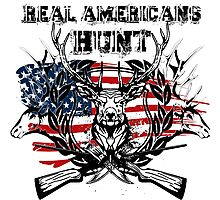 Real americans hunt Photographic Print