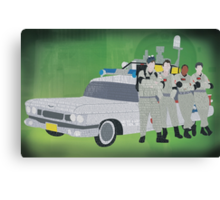 Ghostbusters Movie Art Print Canvas Print