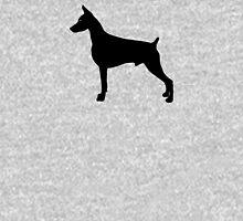 Doberman Pinscher Dog Silhouette Unisex T-Shirt