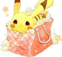 Pikachu Popcorn by rewydo
