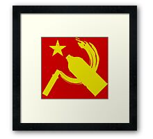 Red Tag Framed Print