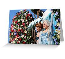 Frozen Fantasy Greeting Card