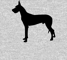 Great Dane Dog Silhouette Unisex T-Shirt