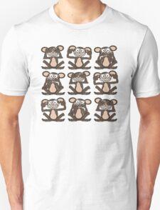 See No Evil, Hear No Evil, Speak No Evil Group Tee Unisex T-Shirt