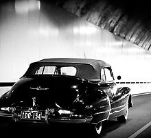 Bridal car in the Eastlink Tunnel by Daniel Sheehan