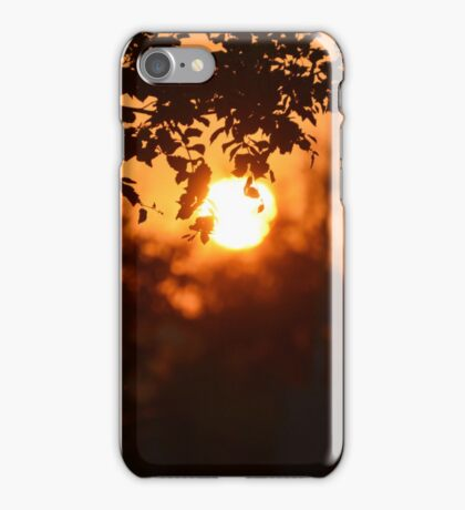 Sunset on the Horizon  iPhone Case/Skin