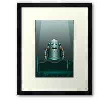 The Lonely Space Robot Framed Print