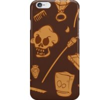 The Curse of Monkey Island Inventory (brown) iPhone Case/Skin