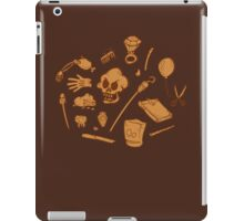 The Curse of Monkey Island Inventory (brown) iPad Case/Skin