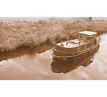 Irish boat Photographic Print